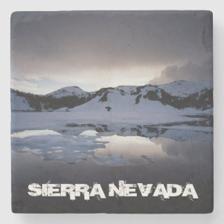 California, Sierra Nevada Mountains 13 Stone Coaster