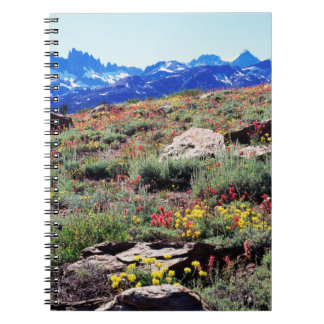 California, Sierra Nevada Mountains 1 Spiral Notebook