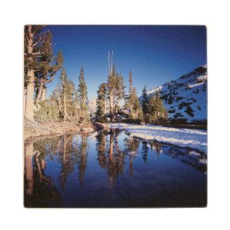 California, Sierra Nevada Mountains 2 Wood Coaster