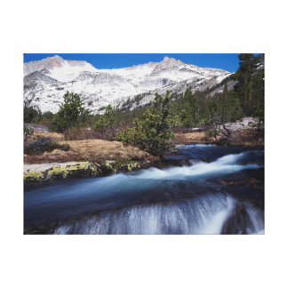 California, Sierra Nevada Mountains 4 Stretched Canvas Prints