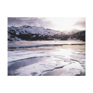 California, Sierra Nevada Mountains 6 Canvas Print