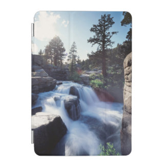 California, Sierra Nevada Mountains, A waterfall iPad Mini Cover
