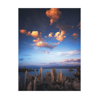 California, Sierra Nevada Mountains, Clouds at Canvas Print