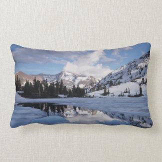 California, Sierra Nevada Mountains, Dana Peak Lumbar Cushion