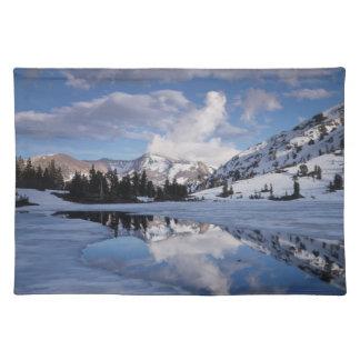 California, Sierra Nevada Mountains, Dana Peak Placemat