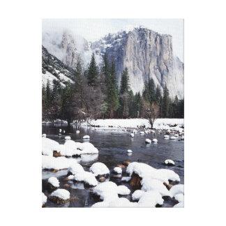 California, Sierra Nevada Mountains, Yosemite 2 Stretched Canvas Prints