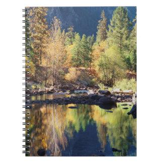 California, Sierra Nevada Mountains, Yosemite 4 Notebooks