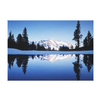 California, Sierra Nevada Mountains, Yosemite 9 Canvas Print