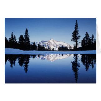 California, Sierra Nevada Mountains, Yosemite 9 Card