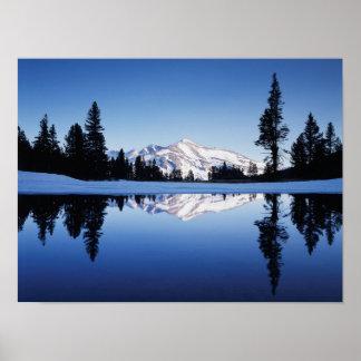 California, Sierra Nevada Mountains, Yosemite 9 Poster