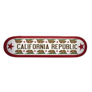 California Skate Board with California Bear