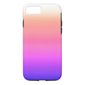 California Sky Ombre Watercolor Pink Peach Purple iPhone 8/7 Case