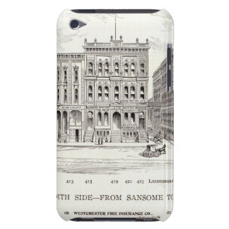California South side Sansome and Leidesdorff Case-Mate iPod Touch Case