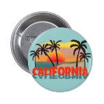 California Souvenir 6 Cm Round Badge