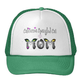 California Spangled Cat Mom Gifts Hat