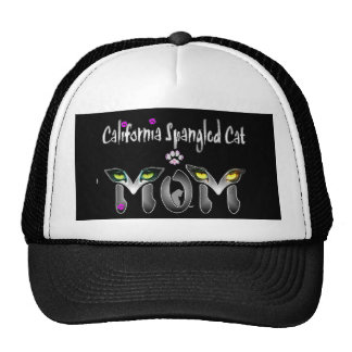 California Spangled Cat Mom Gifts Mesh Hat