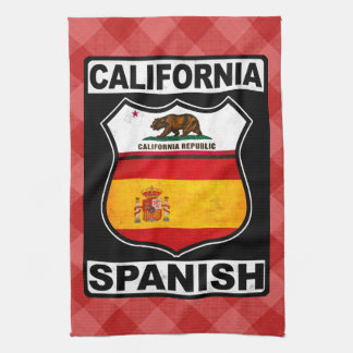 California Spanish American Tea Towels