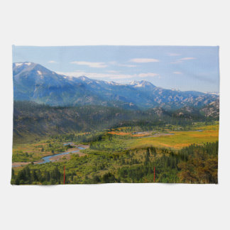 California SR 108 Sonora Pass Tea Towel