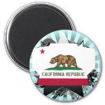 California Star Fridge Magnets