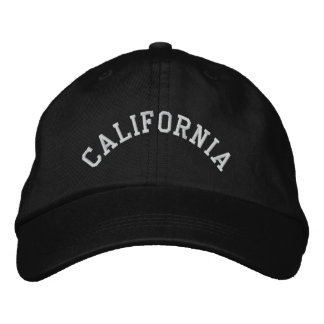California State Embroidered Embroidered Baseball Cap