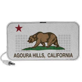 California State Flag Agoura Hills Mp3 Speakers