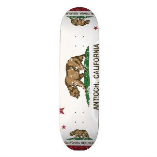 California State Flag Antioch Skate Decks