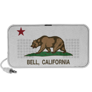 California State Flag Bell iPhone Speakers
