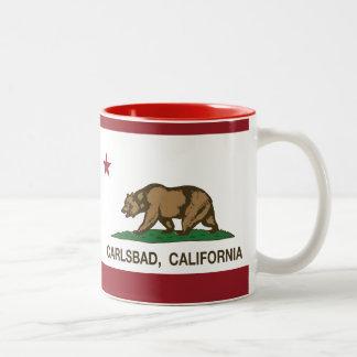 California State Flag Carlsbad Coffee Mugs