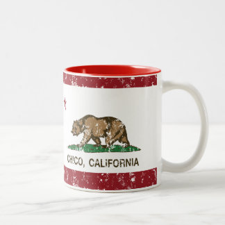 California State Flag Chico Coffee Mugs