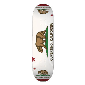 California State Flag Cupertino 18.1 Cm Old School Skateboard Deck