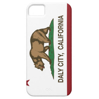 California State Flag Daly City iPhone 5 Case