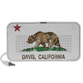 California State Flag Davis Mini Speaker