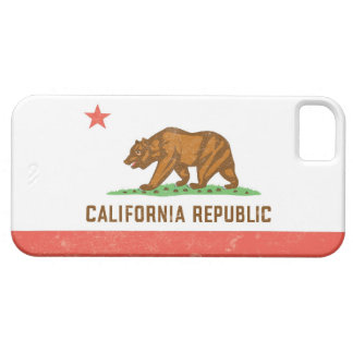 California State Flag Distressed iPhone 5 Cases