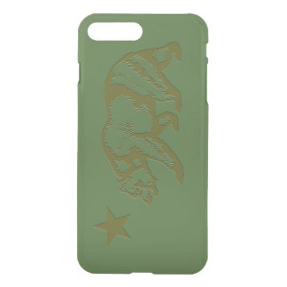 California State Flag Engraved Look iPhone 7 Plus Case
