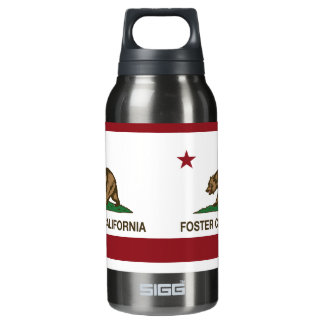 California State Flag Foster City 10 Oz Insulated SIGG Thermos Water Bottle