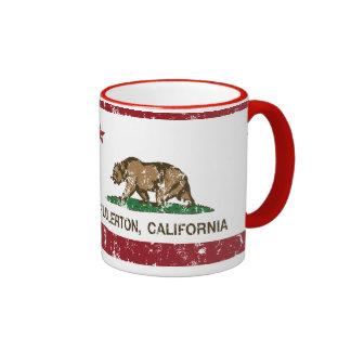 California State Flag Fullerton Ringer Mug