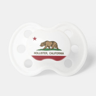 California State Flag Hollister Baby Pacifiers