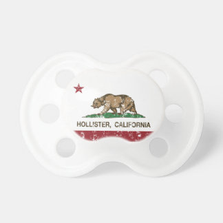 California State Flag Hollister Baby Pacifier
