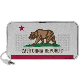 California State Flag iPod Speakers
