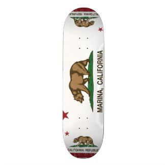California State Flag Marina Skate Deck