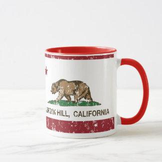 California State Flag Morgan Hill Mug