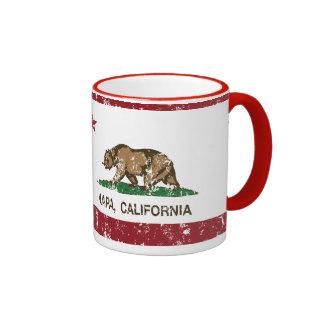 California State Flag Napa Mugs