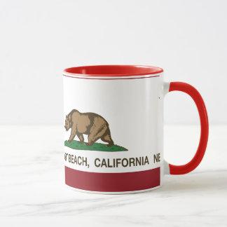 California State Flag Newport Beach Mug