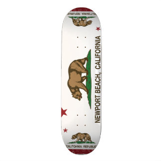 California State Flag Newport Beach Skateboard Decks