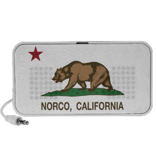 California State Flag Norco iPhone Speaker