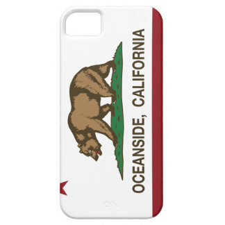 California State Flag Oceanside iPhone 5 Cases