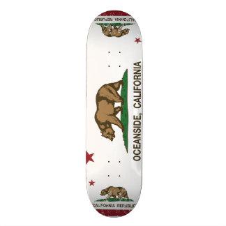 California State Flag Oceanside Skate Board Deck