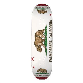 California State Flag Palm Desert 21.6 Cm Skateboard Deck