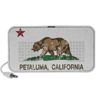 California State Flag Petaluma Mp3 Speaker