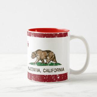California State Flag Placentia Two-Tone Mug